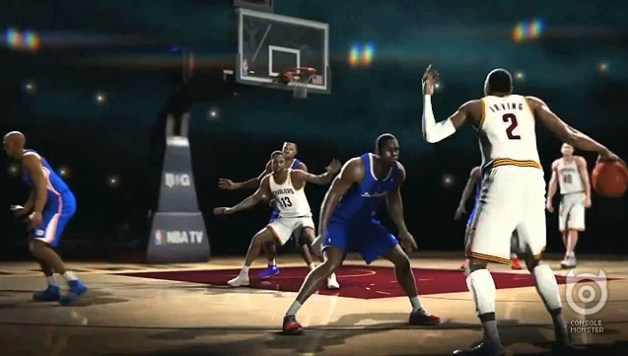 NBA Live 14 Trailer Takes To The Court