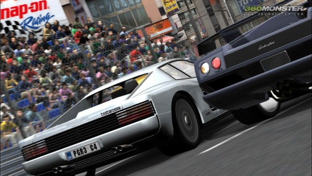 Project Gotham Racing 3 Website