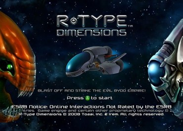R-Type Dimensions out 4th February