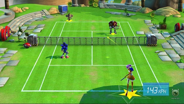 SEGA Superstars Tennis Review