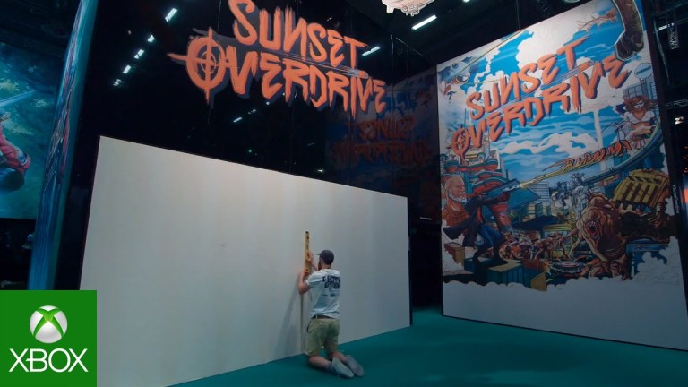 Sunset Overdrive - gamescom Art Mural