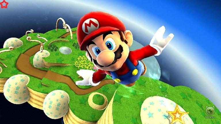 Take Mario through space in November