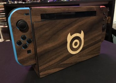 Toast Nintendo Switch Real Wood Cover Impressions
