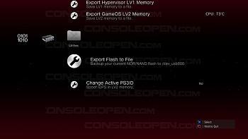 [TUTORIAL] Avvio di tutti i giochi di backup senza disco inserito (CFW Rebug REX)-exportflashtofile.jpg