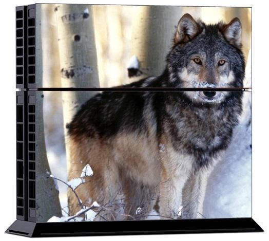 Sony PS4 Skin Animal Wolf
