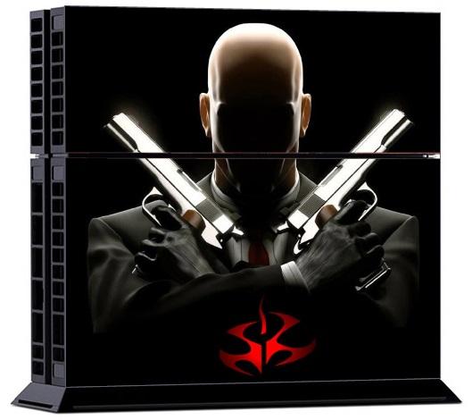 Sony PS4 Skin Cool Hitman
