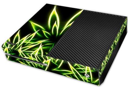 Microsoft XBox One Skin Cannabis Weed