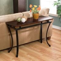 Back Sofa Table Diy Narrow Sofa Table With Outlet - TheSofa