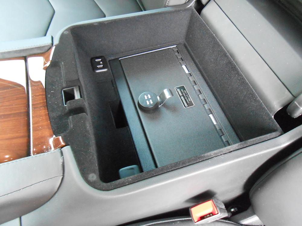 2015 Cadillac Escalade Console Vault