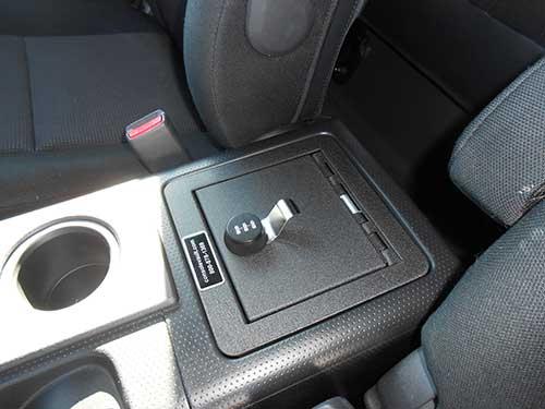 Toyota FJ Cruiser Console Vault