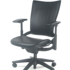 Allsteel Task Chair Semco White Rocking Sum Leather Conference Consolidated Business
