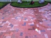 Consolidated Landscape Maintenance Brick Patio