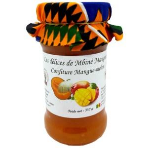 Confiture Mangue-Melon 350g