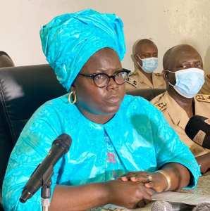 """Flambée des prix des denrées: Les assurances de  Mme Assome Diatta """"tout le gouvernement est mobilisé…"""""""