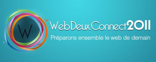 Le WebDeux.Connect2011, les 21 et 22 octobre 2011