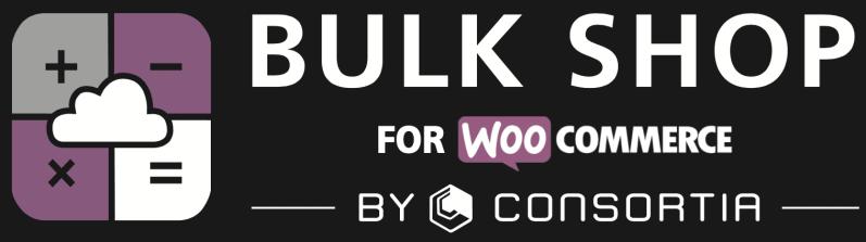 Bulk Shop logo - black