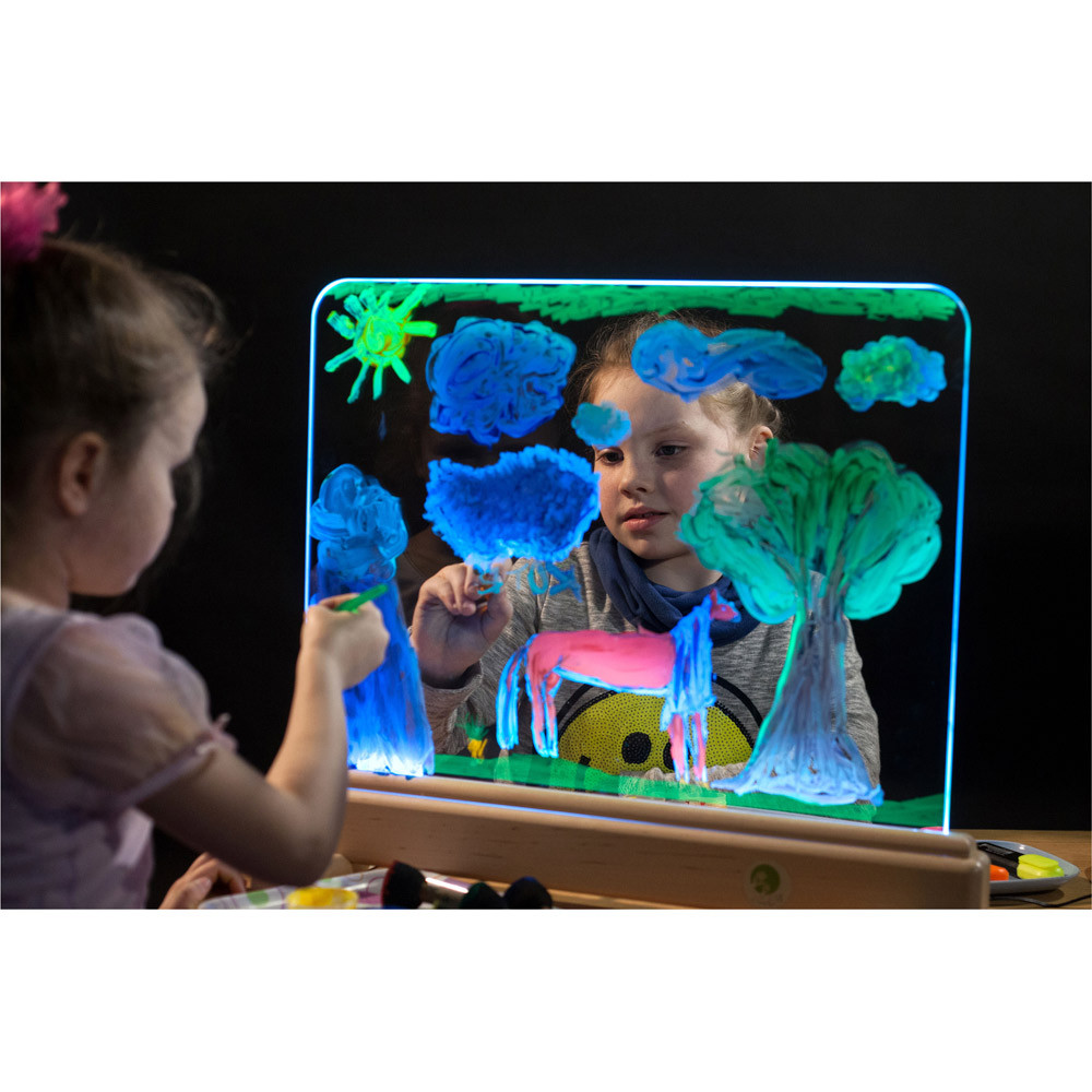 Magic Light Easel  Lighting Projection  Bubble Tubes