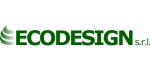 Ecodesign logo azienda plastica riciclo raccolta produzione