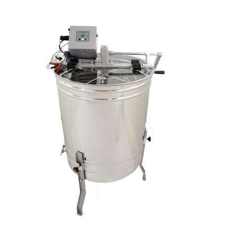 Smielatore radiale Ø600mm, azionamento manuale + elettrico, 20 telaini OPTIMA Lyson