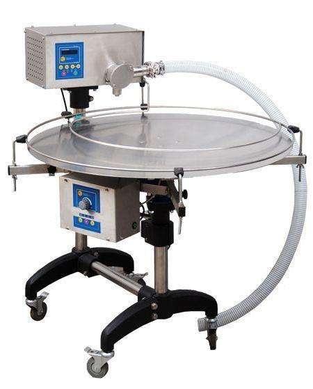 Invasettatrice miele con tavolo rotante automatico