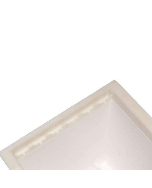 Arnia 6 favi in polistirolo compatto, bordi e distanziatori in plastica mod. Fiorillo