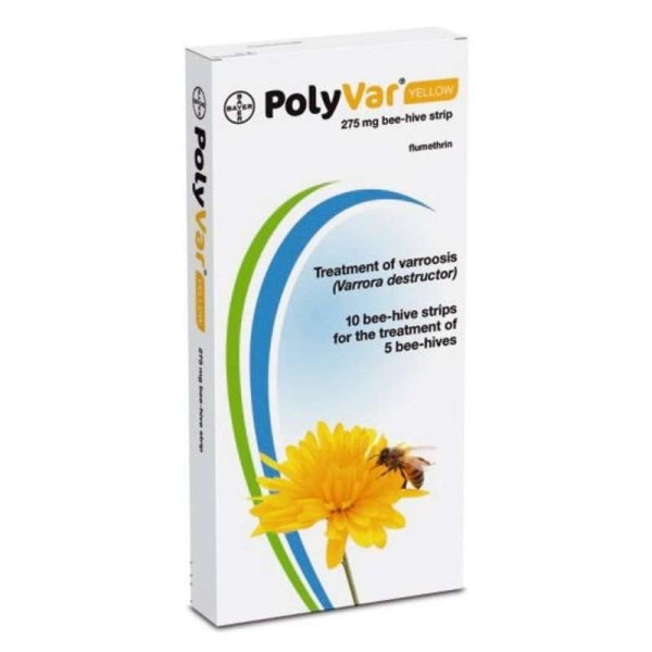 Polivar Yellow - antivarroa