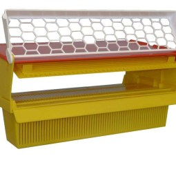 Trappola Professionale per polline con griglia a fori a rombo con rete anti vespa asiatica