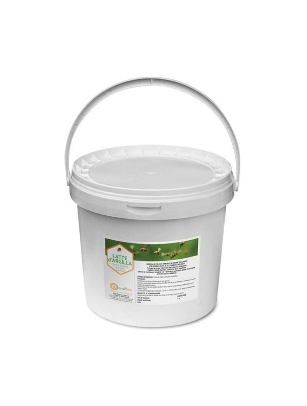 Latte di argilla polvere minerale per abbeverare le api 8kg