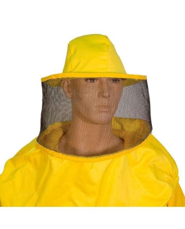 Maschera apicoltora rotonda a cappello ascellare