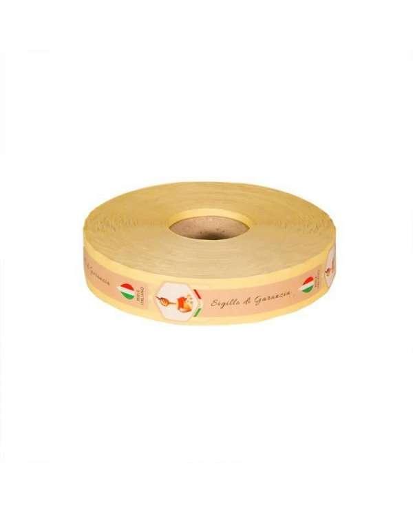 Sigillo di garanzia miele italiano 1000pz