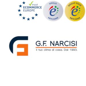 G.F. Narcisi sito autorizzato sigillo netcomm