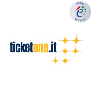 TicketOne sito autorizzato sigillo netcomm