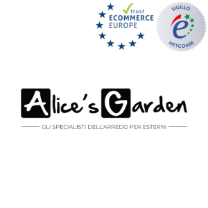 logo alice's garden sigillo netcomm