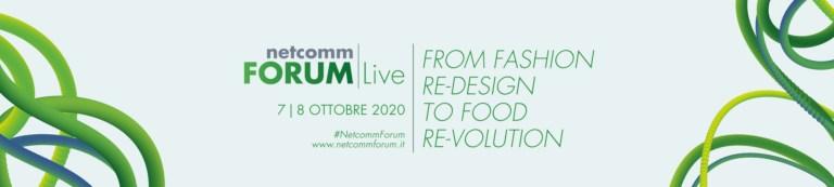 Read more about the article Netcomm Forum Live, l'edizione speciale in digitale: tutti i dati e le ultime statistiche sull'evoluzione dei settori Fashion e Food