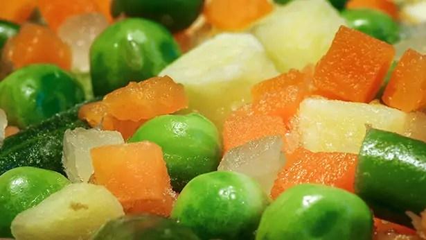 conservation aliments congelés congélation