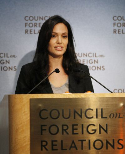 Angelina Jolie Council on Foreign Relations