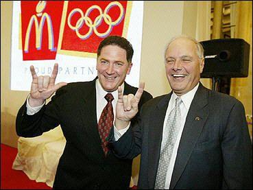 Mcdonalds CEO's