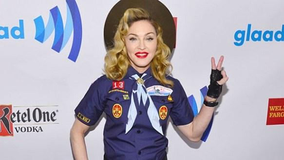 Madonna Boyscout Glaad
