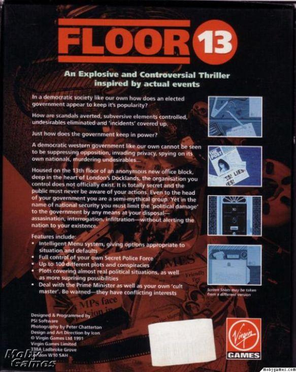 Floor 13 Game