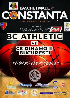 Baschet Club Athletic Constanta vs CS Dinamo II Bucuresti