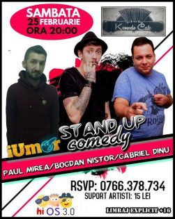 Stand up comedy! la Komodo Cafe Ovidiu