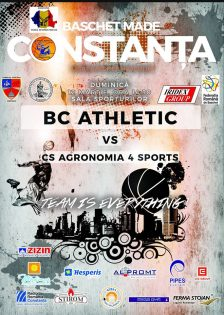 Baschet Club Athletic Constanta vs CS Agronomia 4 Sports