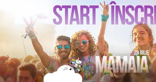 The Color Run Dream Tour Mamaia 2017
