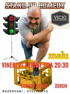 Stand-up Comedy cu Nicu Rata la Vicio Cafe