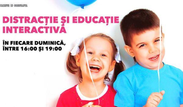 Distractie si educatie interactiva pentru copii