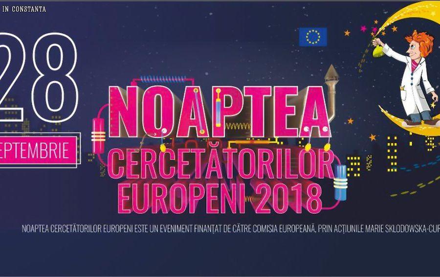 Noaptea Cercetatorilor Europeni 2018