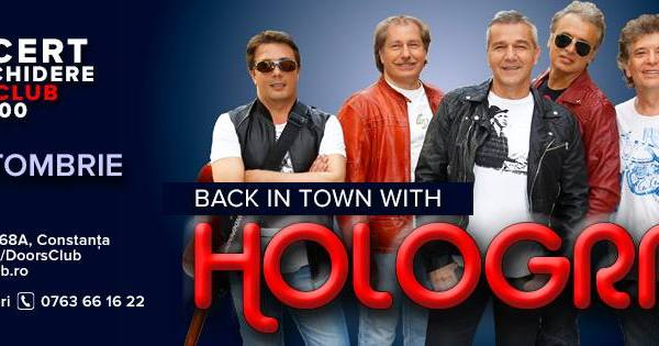 Back in Town with Holograf