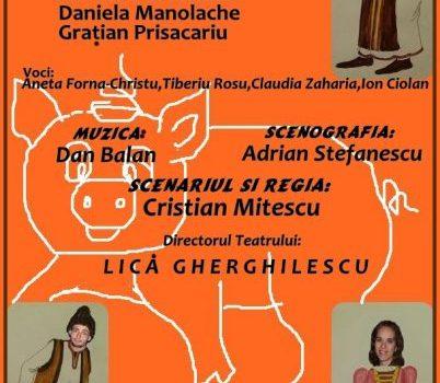 """Teatrul pentru Copii si Tineret """"Calutul de mare"""" - Povestea porcului"""
