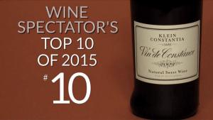 SA in the Top Ten compliments of Klein Constantia