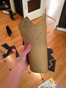 Unpainted Leg Armor - Click to Enlarge